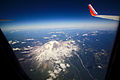 Aerial view of Mt. Rainier during a flight from Seattle to Las Vegas 01.jpg