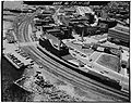 Aerial view of New London Union Station from north.jpg