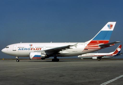 Aeroflot Airbus A310-300 F-OGQS CDG 1993