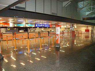 Rondônia - Porto Velho/Governador Jorge Teixeira de Oliveira International Airport.