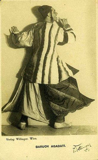 Baruch Agadati - Image: Agadati katz 002 s