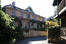 La villa (detta Il castello) della famiglia Agnelli a Villar Perosa.
