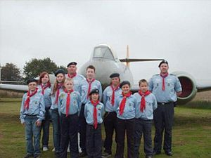 Air Scout - Air Scouts of the Baden-Powell Scouts' Association, July 2008