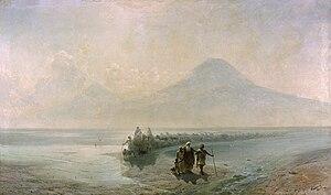 Италия и Испания.  Сошествие Ноя с Арарата - 1889 год.  Крым и окрестности.