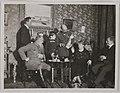 Akseli Gallen-Kallela with Mascha Heiroth, Dr. Perrit, Sigurd Wettenhovi-Aspa, Emil Wikström and a child in Helsinki, 1919; photograph 2. (14542279239).jpg