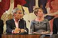 Alain Absire (SOFIA), Florabelle Rouyer (CNL) - 10e Forum de la SGDL sur la rémunération des auteurs (15584641286).jpg
