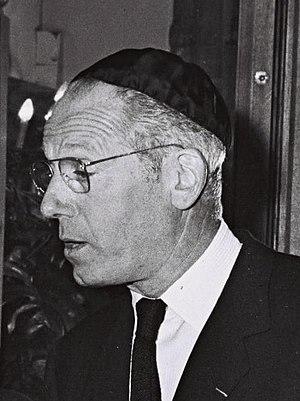 Conseil Représentatif des Institutions juives de France - Image: Alain de Rothschild 1964