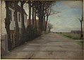 "Albert Gottschalk - The Road Leading past ""Store Godthaab"", a Country House near Copenhagen - KMS6800 - Statens Museum for Kunst.jpg"