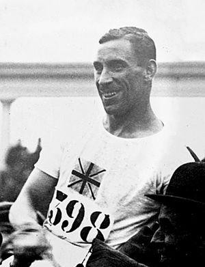 Albert Hill (athlete) - Albert Hill at the 1920 Olympics