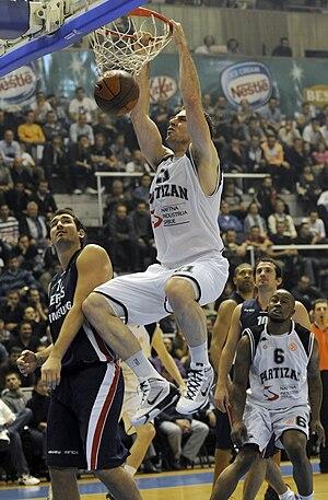 Aleks Marić - Marić playing for Partizan in December 2009