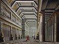 Alessandro Sanquirico - Interno del Palazzo di Cleopatra (set design for the ballet 'Cleopatra in Tarso' by Jean-Pierre Aumer, La Scala, 1821) (cropped).jpg
