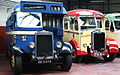 Alexander & sons bus P169 (WG 2373) & Western SMT coach (FVA 854), 2009 Glasgow Vintage Vehicle Trust open day.jpg