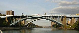 Alexander Hamilton Bridge Bridge between Manhattan and the Bronx, New York