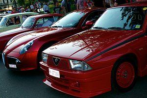 Alfa Romeo 75 - Front of the Alfa Romeo 75 Turbo Evoluzione.