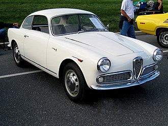 Alfa Romeo Giulietta (750/101) - Alfa Romeo Giulietta Sprint (ca. 1960)