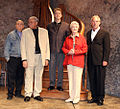 Alfred Uhry, James Earl Jones, Boyd Gaines, Angela Lansbury , David Esbjornson (8516678911).jpg