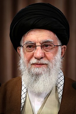 Ali Khamenei delivers Quds Day speech from his house 13990302 0745669.jpg