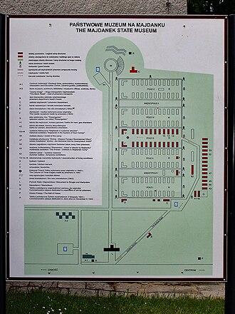 Majdanek State Museum - The Majdanek State Museum Info Centre display