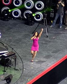 Alicia Keys in concerto al Live Earth a New York