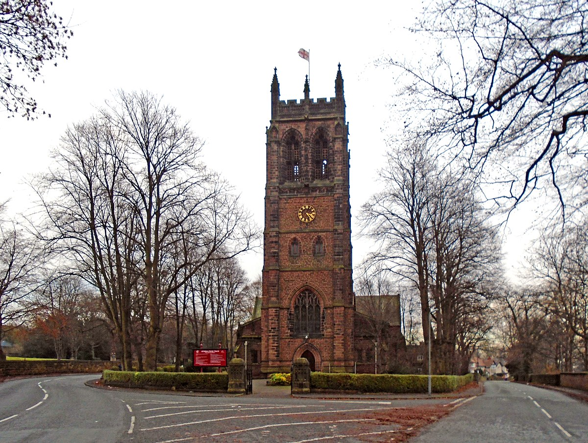 church of all hallows  allerton