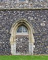 All Saints, Rockland All Saints, Norfolk - Blocked doorway - geograph.org.uk - 1704755.jpg