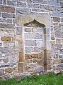 All Saints Church, Hawnby - Blocked Door - geograph.org.uk - 496060.jpg