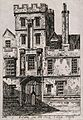 All Souls College, Oxford; entranceway. Etching by Soho, 182 Wellcome V0014063.jpg