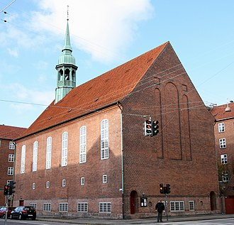 Thomas Havning - Allehelgens Church in Copenhagen from 1924