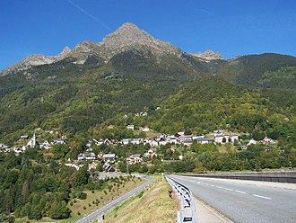 Allemond - A general view of Allemond