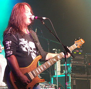 FireHouse (band) - FireHouse bassist Allen McKenzie in North Dakota in 2007