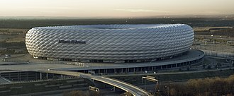 2011–12 UEFA Champions League - Image: Allianz arena daylight Richard Bartz