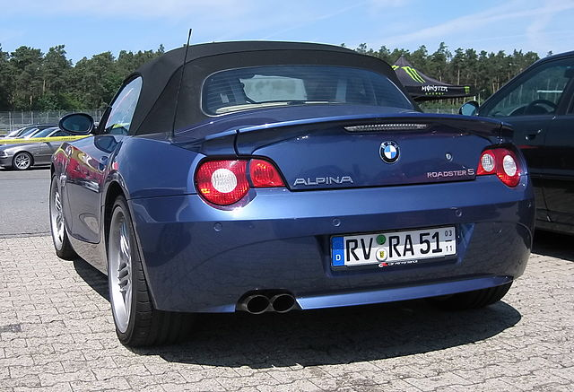 Alpina Roadster S (E85)