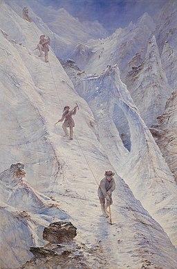 Alpine Climbers - Elijah Walton - Google Cultural Institute