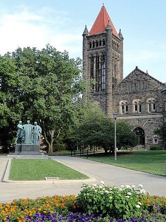 Altgeld's castles - Altgeld Hall, UIUC in Urbana, Illinois.