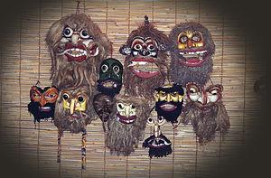 Ambalangoda - Masks in Ambalangoda
