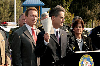 Todd Spitzer - Spitzer speaks out against the early release of state prisoners with Governor Schwarzenegger and San Diego County DA Bonnie Dumanis