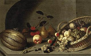 Still-Life of Fruit with a Basket