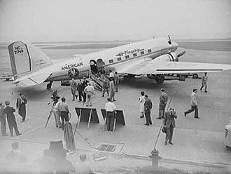 American Airlines - American DC-3 used in a 1943 war film