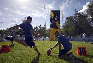Placekicker Player position in American and Canadian football