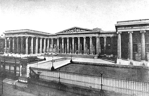 Americana 1920 Libraries Ancient - British Museum