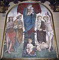 Amico aspertini, madonna col bambino e santi, xvi sec..JPG