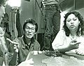 "Amy Hill interprets Wayne Wang's film direction on shooting a scene in ""Dim Sum- A Little Bit of Heart"".jpg"