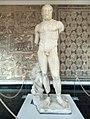 An ancient Roman bust of Hercules hero of Roman mythology.jpg