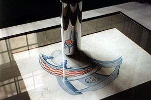 Anamorphosis - Example of mirror anamorphosis