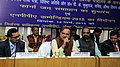 Ananthkumar addressing at the launch of the 'Pharma Jan Samadhan', in New Delhi on March 12 2015. The Minister of State for Chemicals & Fertilizers, Shri Hansraj Gangaram Ahir is also seen.jpg