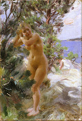 Anders Zorn: After the Bath