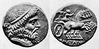 Andragoras (Seleucid satrap) - Image: Andragoras Stater