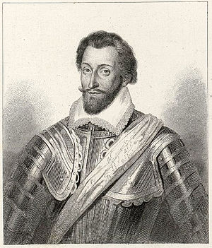 Siege of Doullens - André de Brancas, Amiral de Villars, by Léopold Massard.