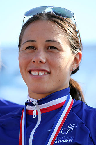 Andrea Hewitt - Andrea Hewitt, winner of the Grand Prix triathlon in Nice, 2012.