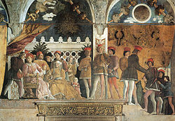 Andrea Mantegna - Camera picta, la corte 01.jpg